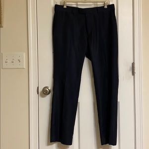 Perry Ellis Portfolio Navy Blue Dress Pants EUC